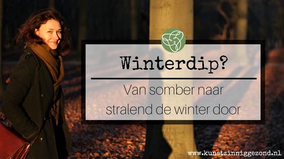 Winterdip - kunstzinnige beeldende therapie Utrecht