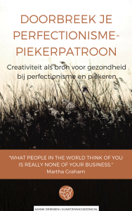 e-book voorkant Doorbreek je PerfectionismePiekerPatroon