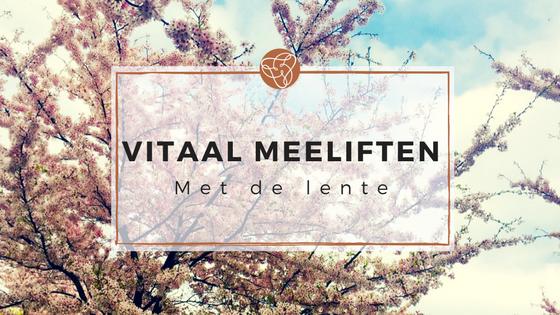 Vitaal meeliften met de lente - Beeldende Therapie Utrecht - Kunstzinnig Gezond - Sanne Driessen