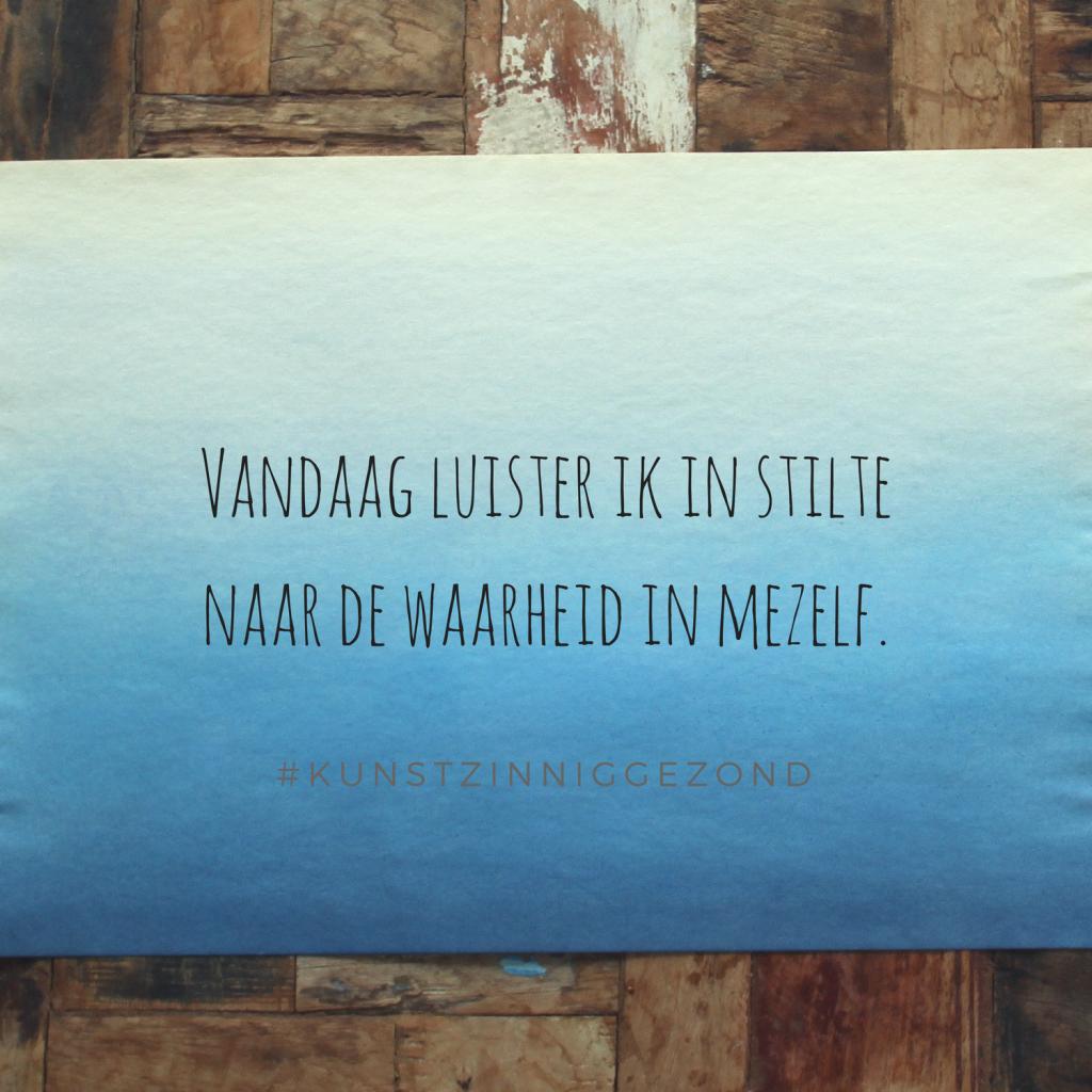 Stilte - Beeldende therapie Utrecht - Kunstzinnig Gezond - Sanne Driessen